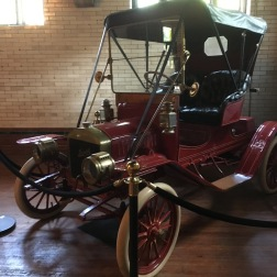 Casa Loma has a great antique car collection