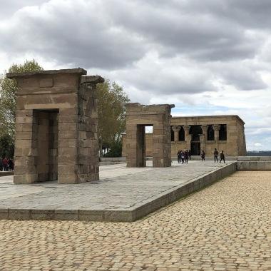 Templo de Debod at Parque del Oeste