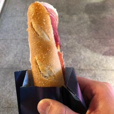 Bocadillo de Jamon (Ham Sandwich)